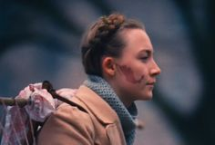 Grand Hotel Budapest (W Anderson 2014): Agatha (Saoirse Ronan) has a beauty mark shaped exactly like Mexico. On her face.