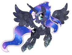 Crystal Princess Luna V.3 by Moonlightprincess002.deviantart.com on @DeviantArt