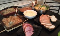 our mini thanksgiving, a week late.