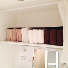わが家はファイルボックスの横置き+立てるタオル収納 | 収納上手はおしゃれ上手 pantry(パントリー)