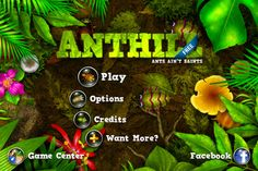 Tower defense with Ants.