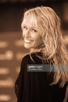 Estelle Lefebure during 2003 Laureus World Sports Awards - Arrivals at Grimaldi Forum in Monte Carlo, Monaco.