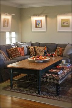 NYC Interior Designer Focused on the family home Stephen Saint-Onge Studio Basement Family Rooms, Basement Ideas, Extra Large Coffee Table, Fall Family, Home And Family, One Bedroom Apartment, Kitchen Nook, Ideal Home, Sweet Home