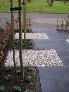 Speels pad naar de voordeur - www.witzand.nl