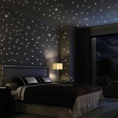 Glow in the dark Wall Decals bedroom ideas for Men