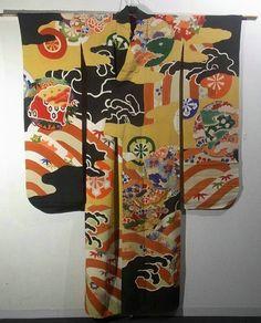 Furisode #300619 Kimono Flea Market Ichiroya