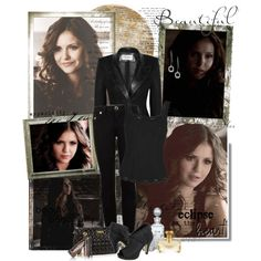 """Katherine Pierce (TVD)"" by noseinanovel on Polyvore"