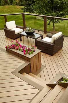 Order Samples of Our Composite Decking Railing TimberTech Terrace Design, Patio Design, Garden Design, Outdoor Rooms, Outdoor Living, Outdoor Furniture Sets, Outdoor Decor, Outdoor Ideas, Composite Deck Railing