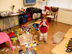 Bagunça no quarto de criança nunca mais!