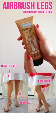 The Sorority Secrets: Airbrush Legs