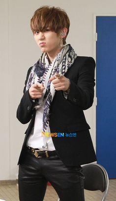Kpop Fashion | B2st Hyunseung's Backstage Balmain