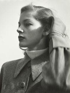 Hermann Landshoff. 'Actress Lauren Bacall, New York, 1945' 1945