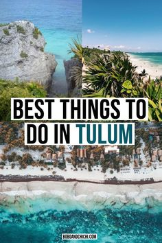 Tulum, Mexico has been on one of the hottest beach destinations radar for a while now and for good reason. With a gorgeous stretch of beach, fabulous resorts, incredible food, Mexico Honeymoon, Mexico Vacation, Mexico Travel, Vacation Spots, Maui Vacation, Tulum Mexico Resorts, Cancun, Akumal Mexico, Tulum Beach