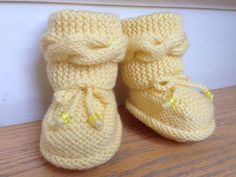 Adorable Hand Knitted Baby Boots, Unisex, Cute Gift For a Special Baby
