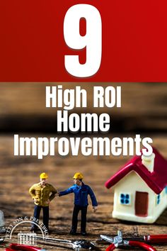 Making home improvements should be on every homeowner's to-do list, but the real question to ask is which home improvements will really move the needle in terms of the best return on investment? High ROI home improvements can have a dramatic impact on property prices, so now's the time to find out which ones you should tackle first! #homeimprovement #homeimprovements #returnoninvestment #diyhomeimprovements Real Estate Staging, Us Real Estate, Selling Real Estate, Real Estate Investing, Moving House Tips, Moving Home, Moving Day, Property Prices, Being A Landlord