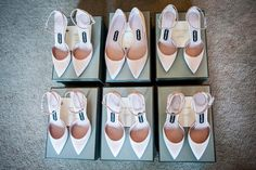 """Rickie De Sole, former senior accessories editor of Vogue - """"Custom-made Tom Ford shoes for the bridesmaids. One particularly tall bridesmaid wore flats, while the rest were in kitten heels."""""""