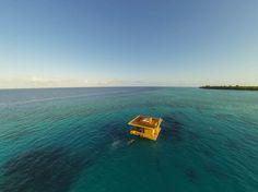 Manta Resort in Sansibar eröffnet Hotelzimmer unter Wasser