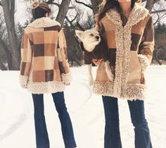 Vintage 1970's Suede PATCHWORK Faux Fur by GimmeShelterVintage