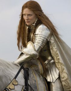 Loved her speech at this part in the movie....and of course...the armor...