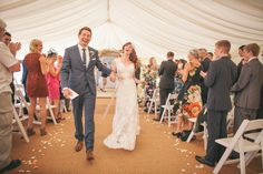 Alexandria and Paul's Beautiful Beach Wedding Planned in 5 Months. By Emma Lucy Photography