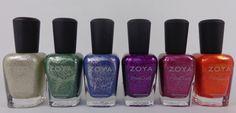 @Zoya Nail Polish PixieDust Fall 2013 review #ZoyaNailPolish #ZoyaPixieDust