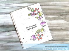 Spring Card made using Cherrylana Designs Stamps