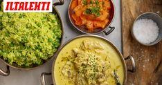 Ikisuosikki kanaviillokki on mainettaan hurjasti paljon parempaa. Palak Paneer, Guacamole, Curry, Food And Drink, Mexican, Ethnic Recipes, Curries, Mexicans
