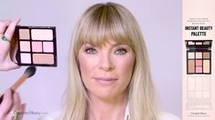 Instant Look in a Palette : Natural, Glowing Makeup Tutorial (feat. Charlotte Tilbury Looks, Charlotte Tilbury Magic Foundation, Fitness Tattoos, Sunflower Tattoo Design, Professional Makeup Artist, Perfect Pink, Homemade Beauty Products, Pink Lips, New Fashion