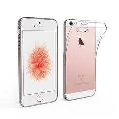 iPhone SE TPU Case,[2 Pack] Simpeak Slim Transparent Silicone Gel TPU Case for iPhone SE 2016 | Phone Covers----- Highly protective----------Resistant to shock, scratches, and tears and prevents the accumulation of dust and oil. This is an awesome, amazing iphone cover for Girls,Guys and Teens------- Comes with a cool protective covering for your iphone ------- This has an unique ,cool ,designer and creative look-------