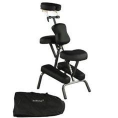 Premium BestMassage Black 4 Portable Massage Chair