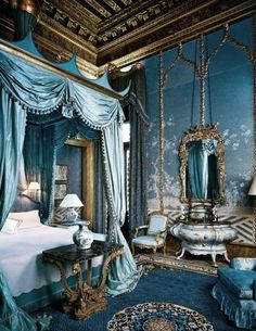 French cerulean blue - almost Wedgewood Blue <3