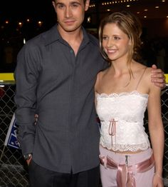 """A striking couple is Freddi Prinze Jr. and Sarah Michelle Gellar (legally Sarah Michelle Prinze). Each suffered adversity by their fathers but soared above it to succeed. They met in 1997 doing the teen movie """"I Know What You Did Last Summer,"""" married in 2002, and starred together as Fred and Daphne in two Scooby-Doo movies. They are parents to daughter, Charlotte Grace born in September 2009 and son, Rocky James born in September 2012."""