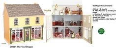 The Olde English Dollhouse Company Dollhouses and Dollhouse Kits from FINGERTIP FANTASIES Dollhouse Miniatures