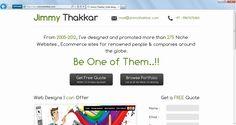Website designer and Search engine optimization expert from Mumbai, India - http://www.jimmythakkar.com