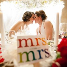 Mrs Mrs same love wedding Cute Lesbian Couples, Lesbian Pride, Lesbian Wedding, Lesbian Love, Wedding Couples, Tipi Wedding, Wedding Bride, Dream Wedding, Wedding Reception
