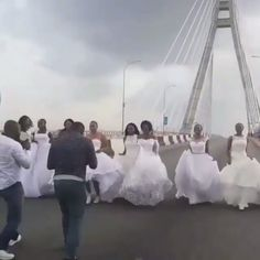 That moment at lekki ikoyi link bridge -  watch! @theweddingmall has arrived in Lagos. The official launch is today and that's why these 10 beauties were in various spots around Lagos searching all through yesterday.  Calling all brides to be wedding vendors friends and family! After a successful run in Abuja the wedding industry is glad to welcome @TheWeddingMall to the shores of Lagos. @TheWeddingMall is a building that houses the very best vendors in the wedding industry and is set to… Industrial Wedding, Bridal Showers, Wedding Vendors, Searching, Mall, Brides, November, Sunday, Product Launch