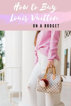 A secret store exists that allows you to buy authentic Louis Vuitton handbags for less than retail prices! This is how I grew my insane bag collection! #louisvuitton #bags #designerbags Best Fashion Blogs, Fashion Advice, Fashion Hacks, Buy Louis Vuitton, Louis Vuitton Speedy 30, Gucci Handbags, Louis Vuitton Handbags, Drugstore Beauty, Louis Vuitton Accessories