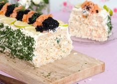 Smörgåstårta | MåBra - Nyttiga recept Sandwich Cake, Sandwiches, Scandinavian Food, Brunch, Swedish Recipes, Fika, Love Food, Cravings, Snack Recipes