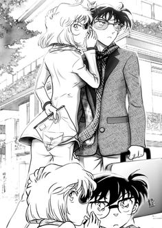 This reminds me a bit of Mr. Smith somehow. Character Aesthetic, My Character, Detective Conan Ran, Detektif Conan, Detective Conan Wallpapers, Kaito Kid, Amuro Tooru, Kudo Shinichi, Masked Man