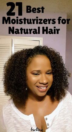 The 21 Best Moisturizers for Natural Hair: Get Soft Long-Lasting Curls The 21 best moisturizers for natural hair. If you suffer from dry natural hair, try one of these moisturizing natural hair products and learn how to properly moisturize natural hair. Cabelo Natural 4c, Natural Haircare, Natural Hair Tips, Natural Hair Growth, Natural Curls, Natural Hair Styles, Fine Natural Hair, Black Natural Hair Care, Natural Hair Regimen