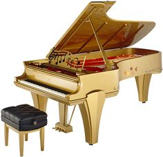 To honor the 80th birthday of Steinway Artist Roger Williams, Steinway created an art case piano that beautifully reflects the spirit and genius of this celebrated pianist.