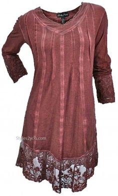 GZ Gemma Tunic PLUS SIZE In Copper