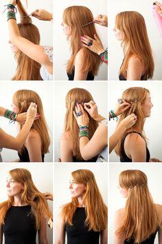 Boho Wire Headband | 3 New Ways to Add Bobby Pins to Your 'Do