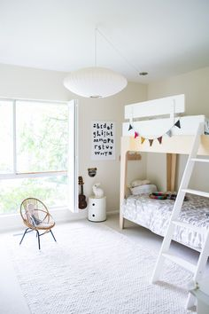 Most Design Ideas Modern White Bedroom Furniture Sets Pictures, And Inspiration – Modern House Skandinavisch Modern, Modern Kids, Modern Entry, Bedroom Furniture Sets, Kids Furniture, Modern Furniture, Casa Kids, Deco Kids, Kids Bunk Beds