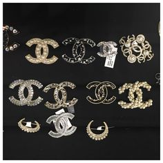 image flashy pin accessories s product of love channel gold qwen brooch fashion chanel