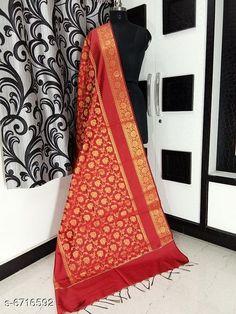 Dupattas Banarasi cotton silk dupatta Fabric: Banarasi Cotton Silk Pattern: Zari Work Multipack: 1 Sizes:Free Size (Length Size: 2.25 m)  Country of Origin: India Sizes Available: Free Size   Catalog Rating: ★4.2 (5673)  Catalog Name: Alluring Attractive Women Dupattas CatalogID_1070724 C74-SC1006 Code: 833-6716592-708