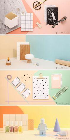 [텐바이텐] Spring Come// photographer_youngju. Page Layout Design, Web Design, Colour Schemes, Color Trends, Identity Design, Brand Identity, Display Design, Commercial Photography, Still Life Photography