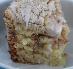 This is a delicious Cinnamon Coffee Cake Recipe made in a slow cooker! If you didn't know you could bake in the crockpot, you're in for a big surprise!