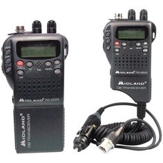 MIDLAND 75-822 HANDHELD 40-CHANNEL CB RADIO WITH WEATHER/ALL-HAZARD MONITOR & MOBILE ADAPTER MIDLAN by Midland. $129.00