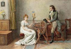 Painting is silent poetry.: George Goodwin Kilburne